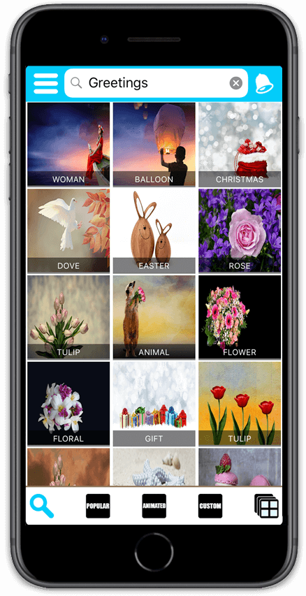 Enter An Occasion In The Search Bar To Preview And Select A Free Greeting Ecard